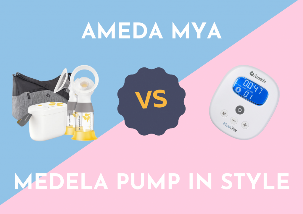 ameda mya vs medela pump in style